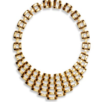 Kate Spade New York Sliced Scallops Statement Necklace