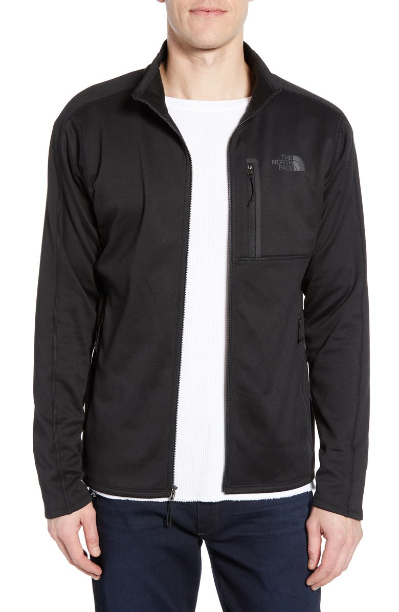 THE NORTH FACE Canyonlands Zip Jacket, Main, color, TNF BLACK