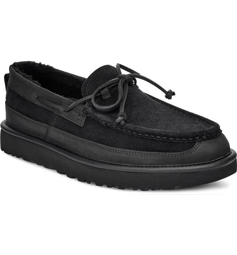 UGG<SUP>®</SUP> Dex Slipper, Main, color, BLACK