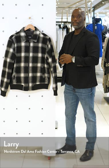 Kickin Plaid Flannel Bomber Jacket, sales video thumbnail