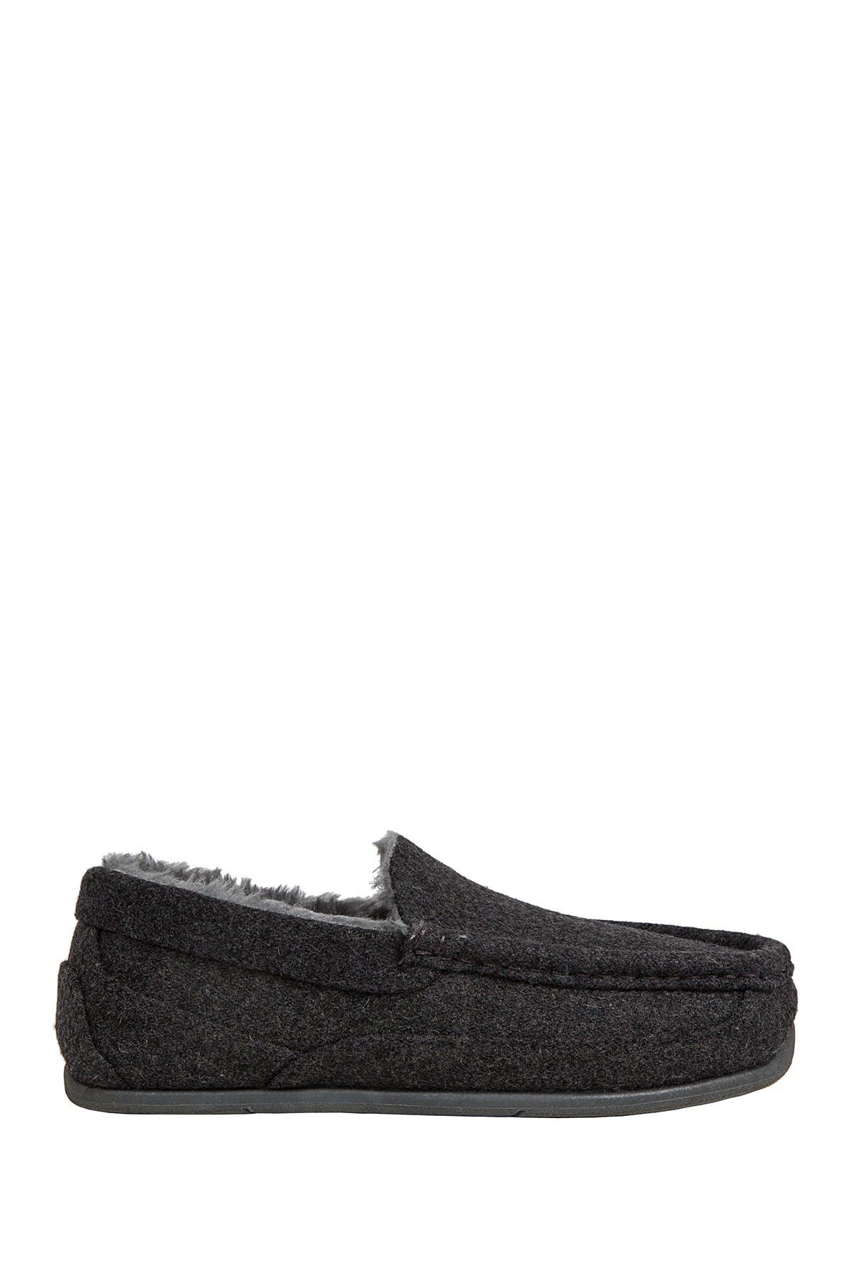 Image of Deer Stags Slipperooz Lil' Nordic Faux Fur Lined Slipper