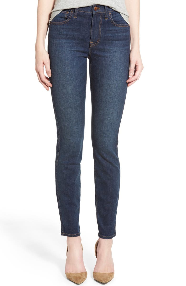MADEWELL 'High Riser' Skinny Jeans, Main, color, 400