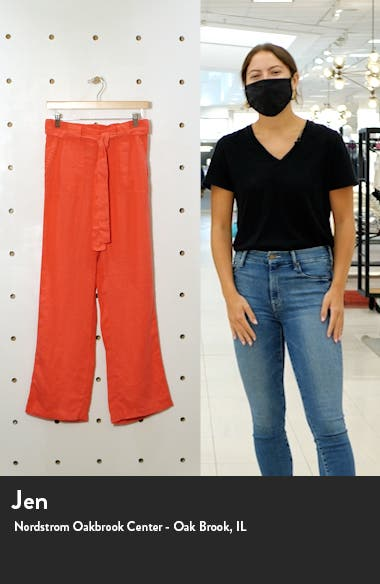 New Belted Linen Pants, sales video thumbnail