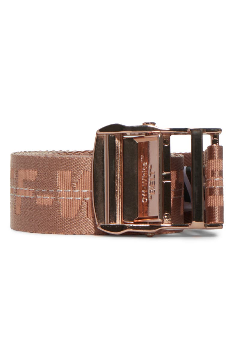 OFF-WHITE Classic Industrial Belt, Main, color, NUDE