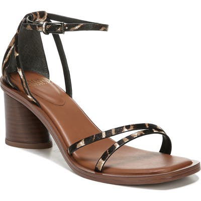 Sarto By Franco Sarto A-Ronelle Ankle Strap Sandal- Brown