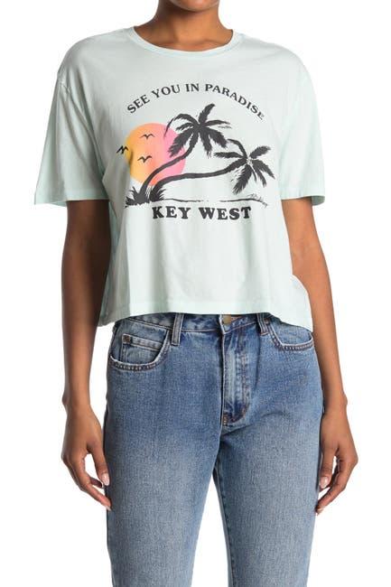 Image of Billabong Key West Graphic Crop T-Shirt