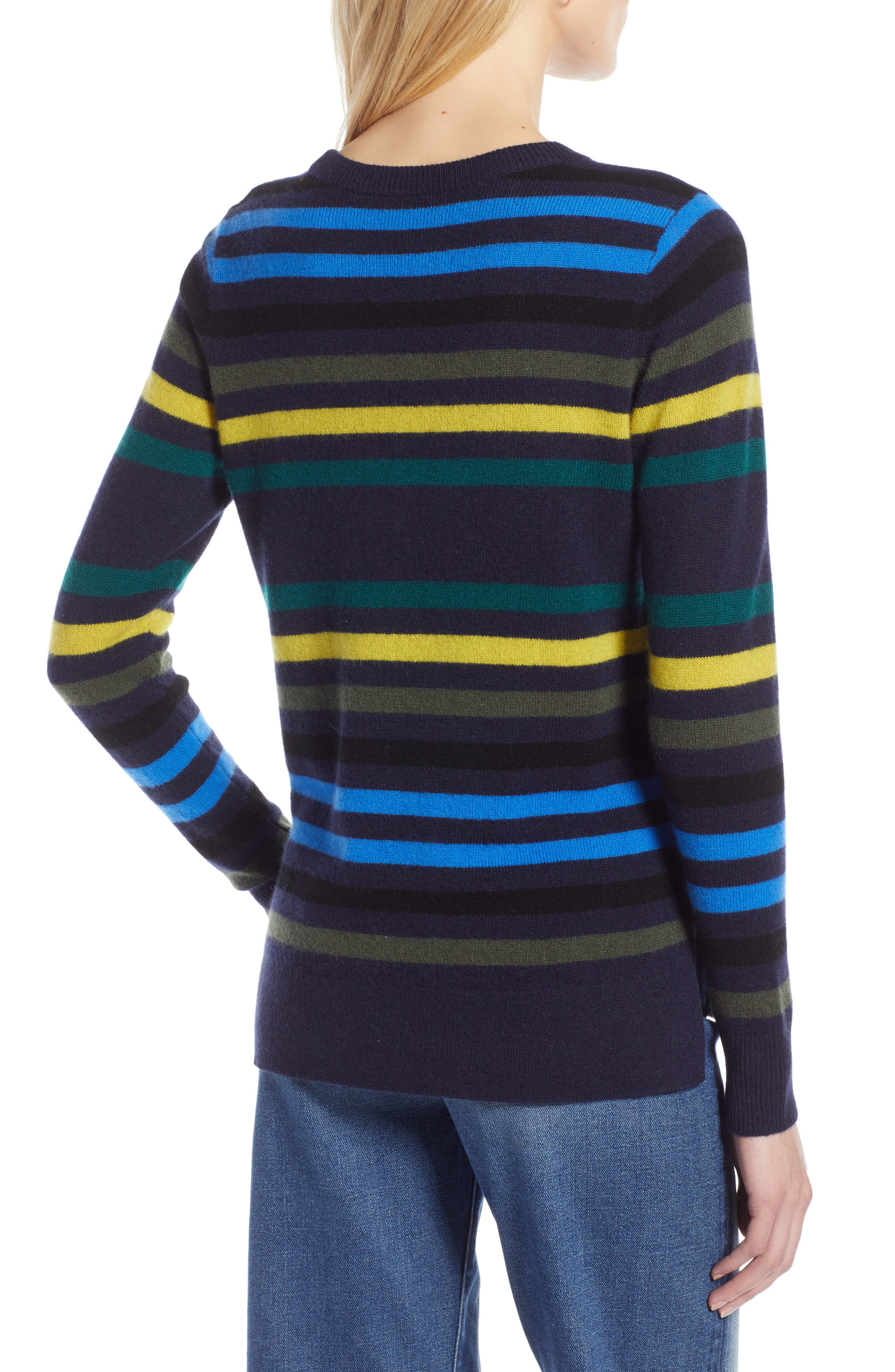 ,                             Crewneck Cashmere Sweater,                             Alternate thumbnail 103, color,                             412