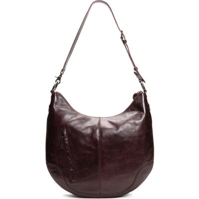 Frye Melissa Leather Hobo - Red