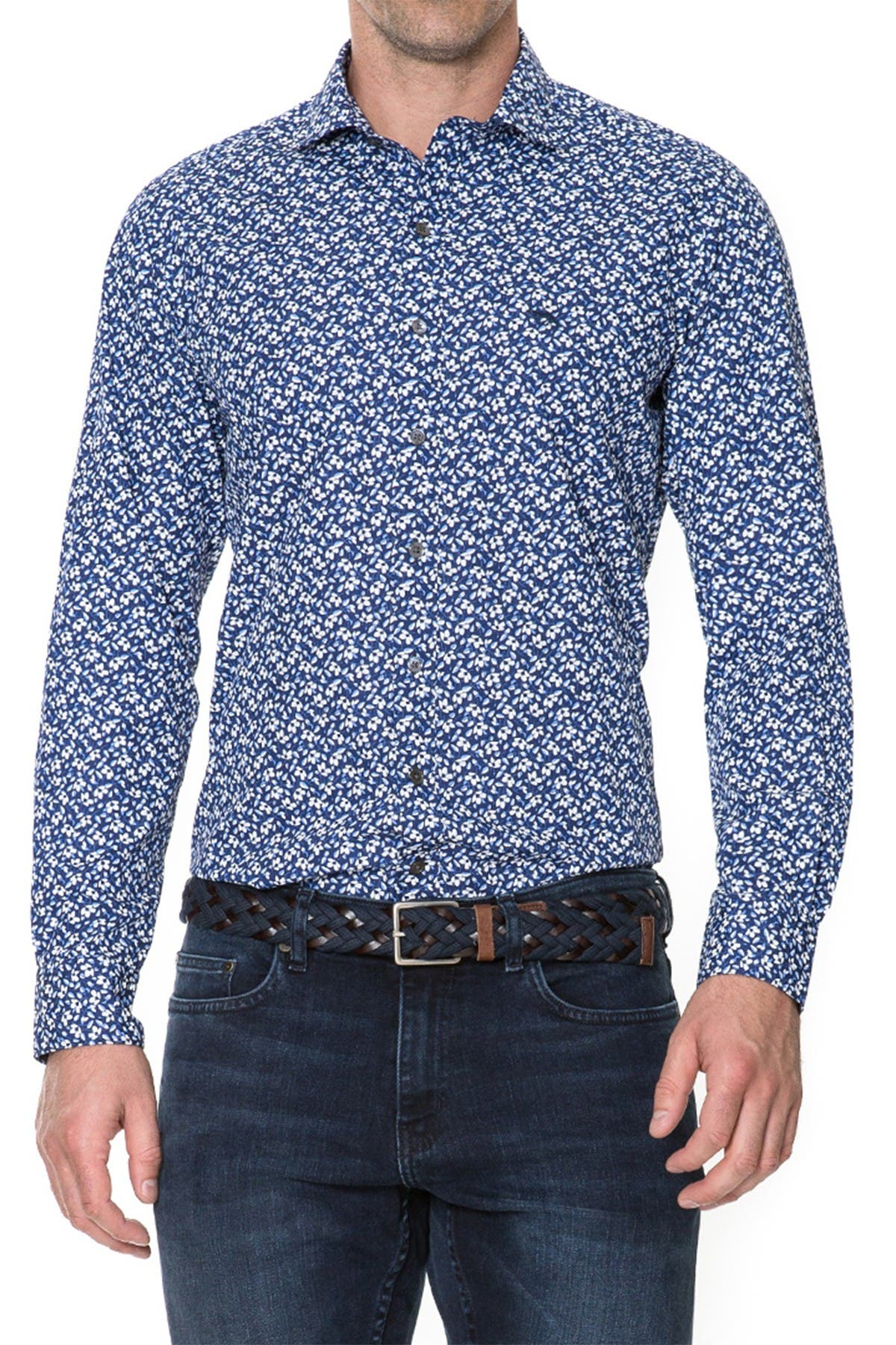 Image of RODD AND GUNN Riverside Long Sleeve Shirt