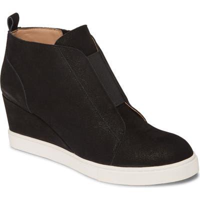 Linea Paolo Felicia Iii Wedge Sneaker, Black