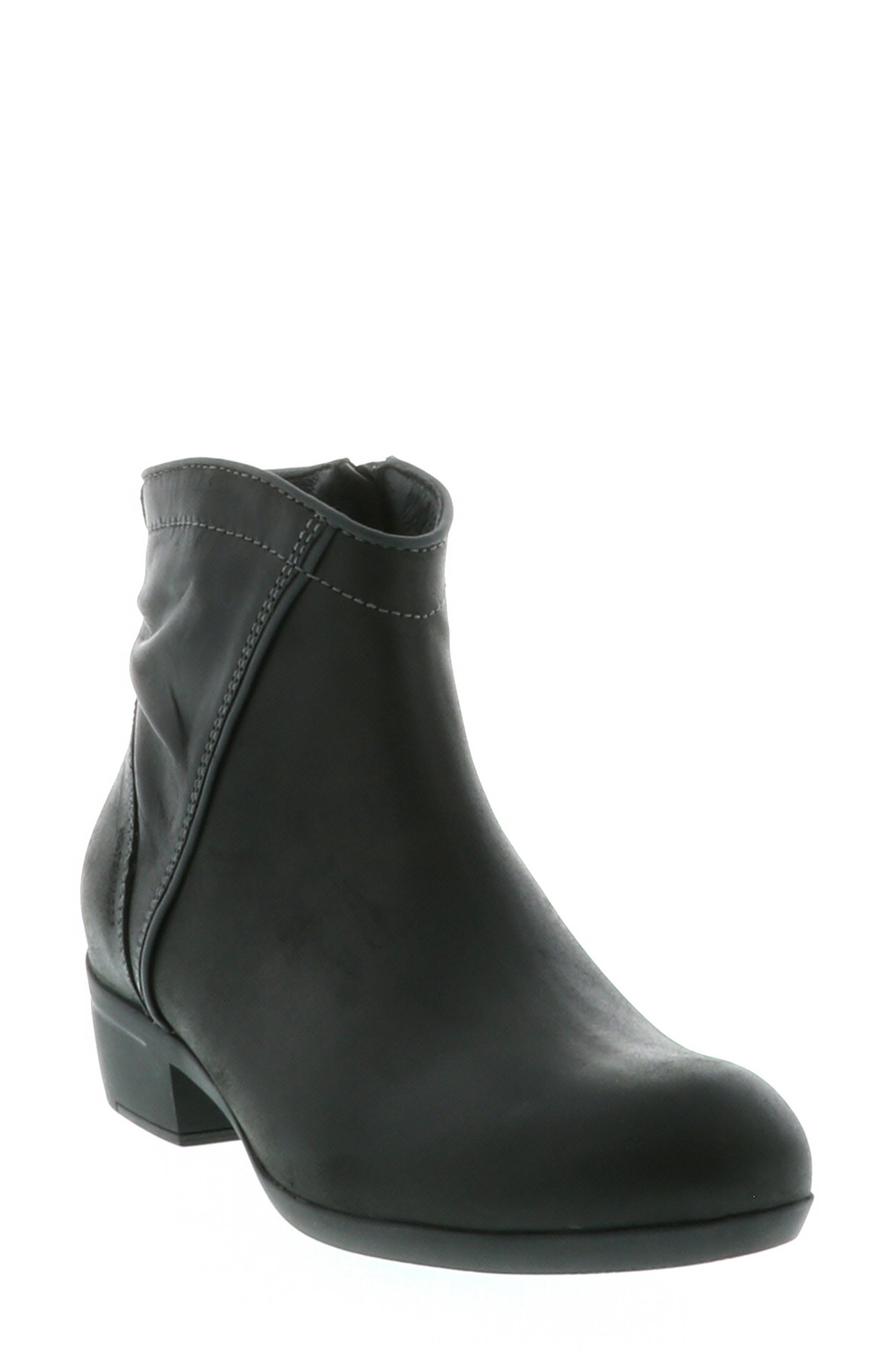 Winchester Bootie, Main, color, BLACK/ BLACK LEATHER