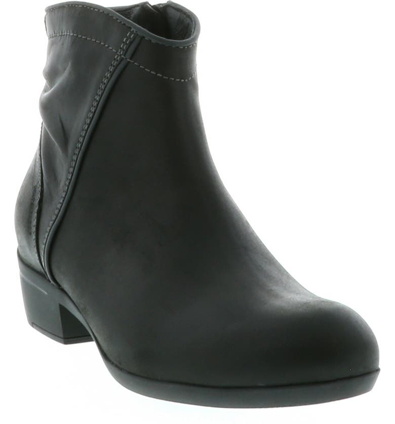 WOLKY Winchester Bootie, Main, color, BLACK/ BLACK LEATHER
