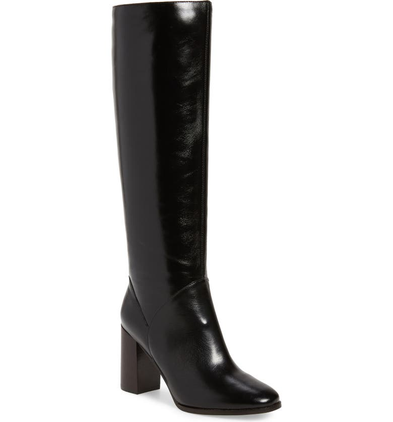 JEFFREY CAMPBELL Bridle Boot, Main, color, BLACK SHINY