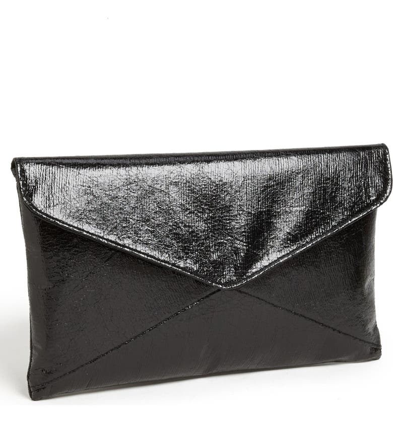 EXPRESSIONS NYC 'Crackle' Envelope Clutch, Main, color, 001