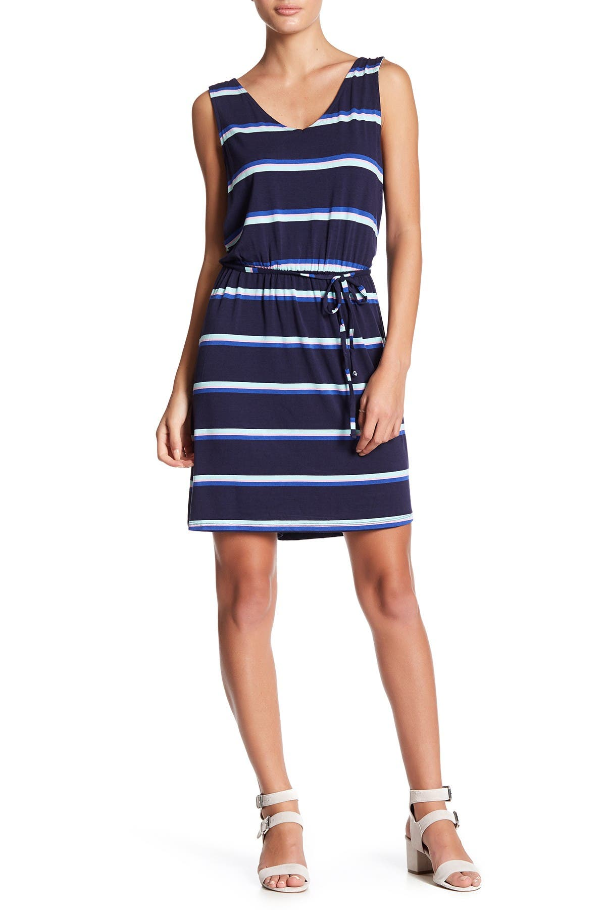Image of 14TH PLACE Short Knit Dress