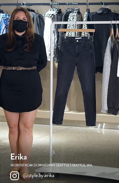 Jamie High Waist Skinny Jeans, sales video thumbnail