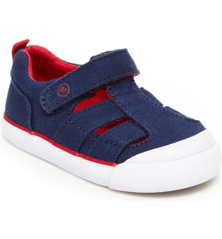 STRIDE RITE Hadley Sneaker, Main, color, NAVY