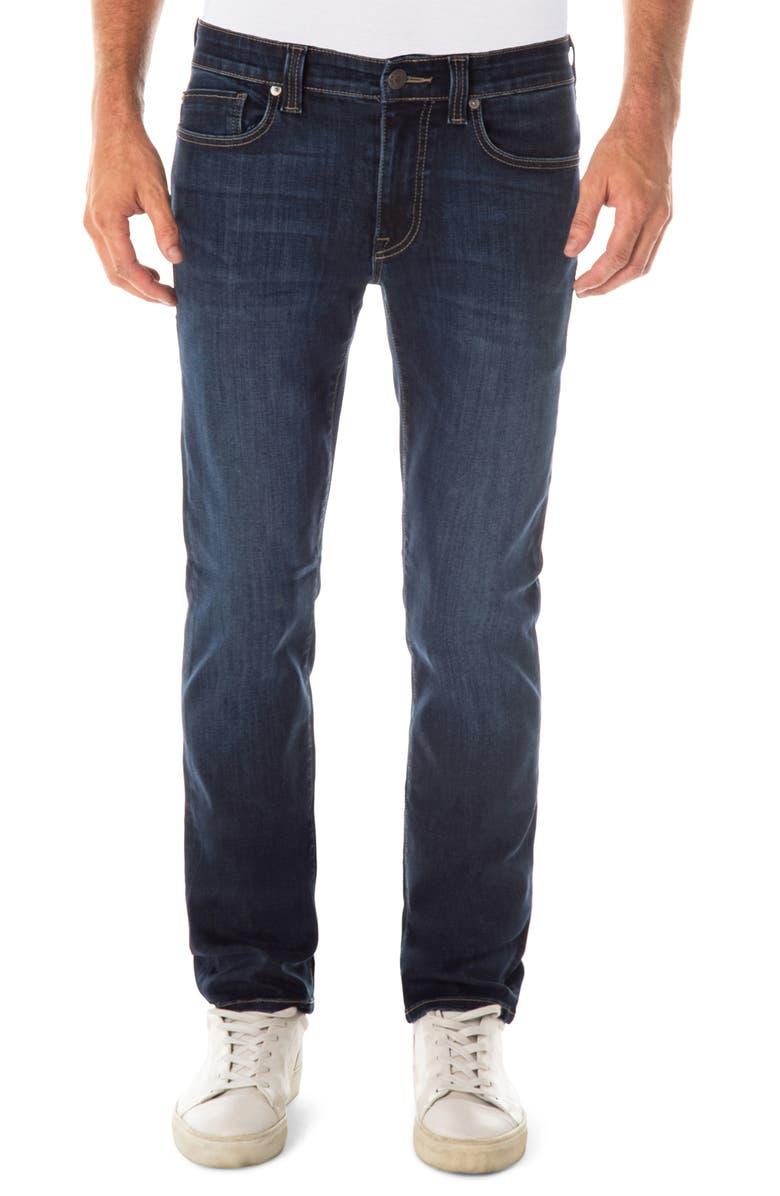 FIDELITY DENIM Jimmy Slim Straight Leg Jeans, Main, color, EMPIRICAL BLUE