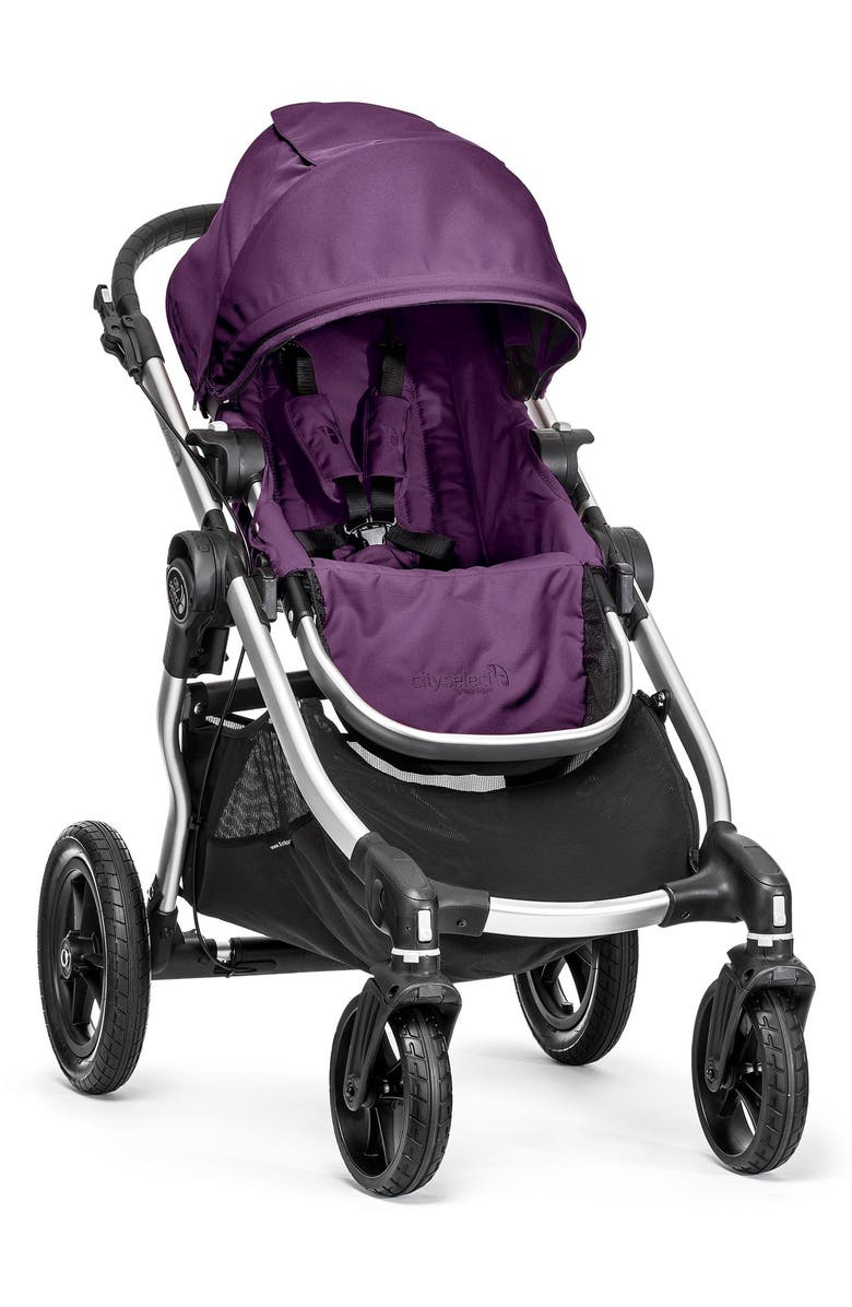 BABY JOGGER City Select<sup>®</sup> Convertible Stroller, Main, color, AMETHYST