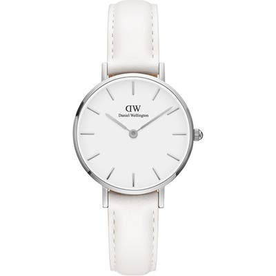 Daniel Wellington Classic Petite Bondi Leather Strap Watch, 2m