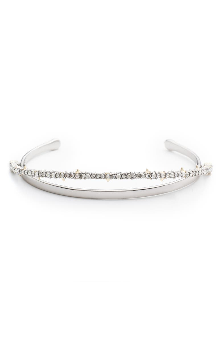 ALEXIS BITTAR Crystal Lace Orbiting Cuff, Main, color, 710