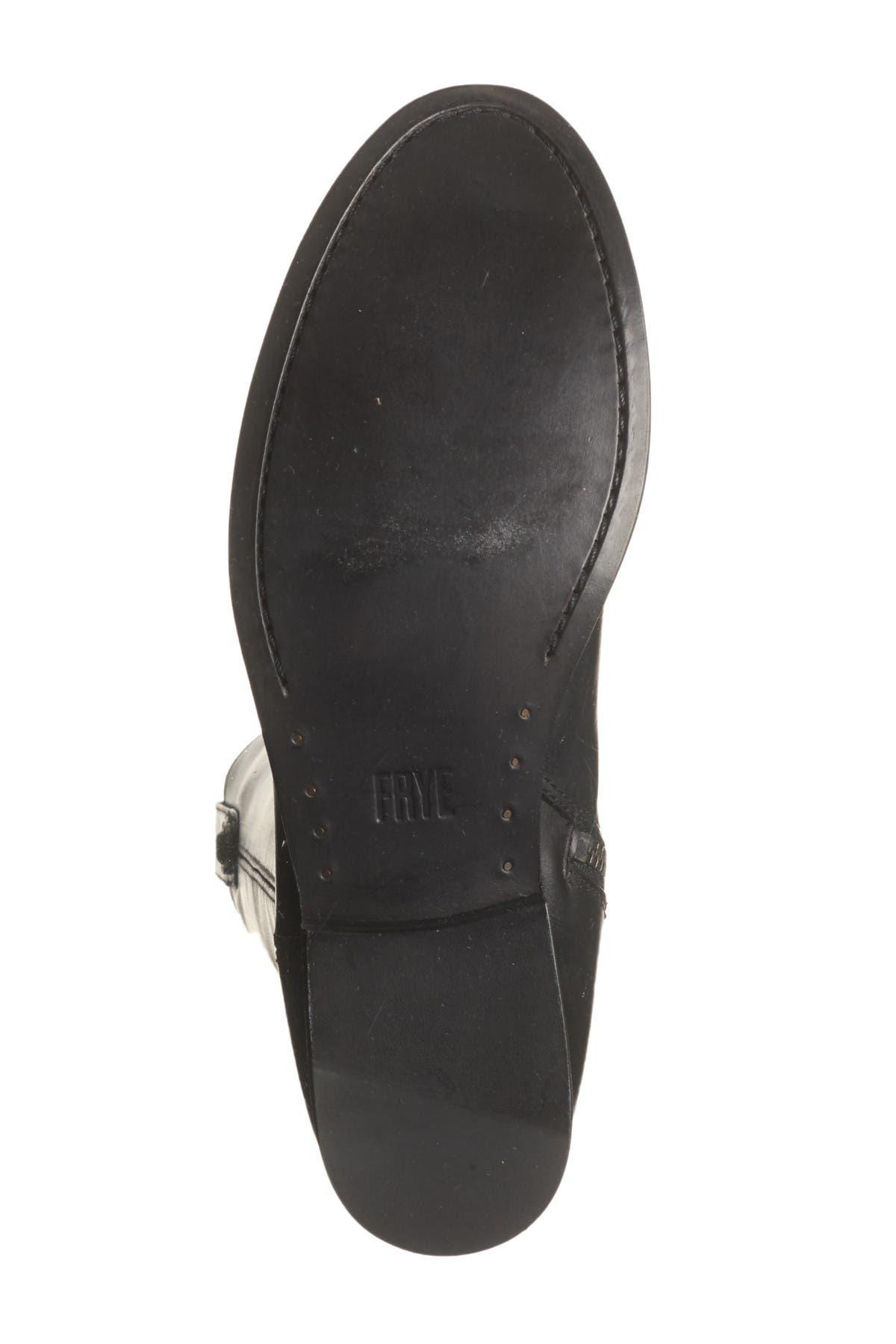Frye Melissa Button Inside Zip Leather Boot