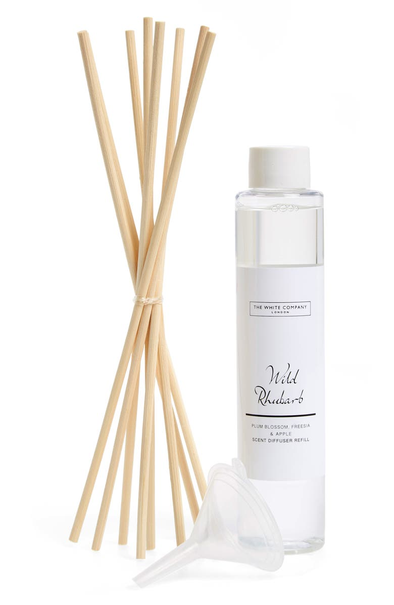 THE WHITE COMPANY Home Fragrance Diffuser Refill, Main, color, WILD RHUBARB