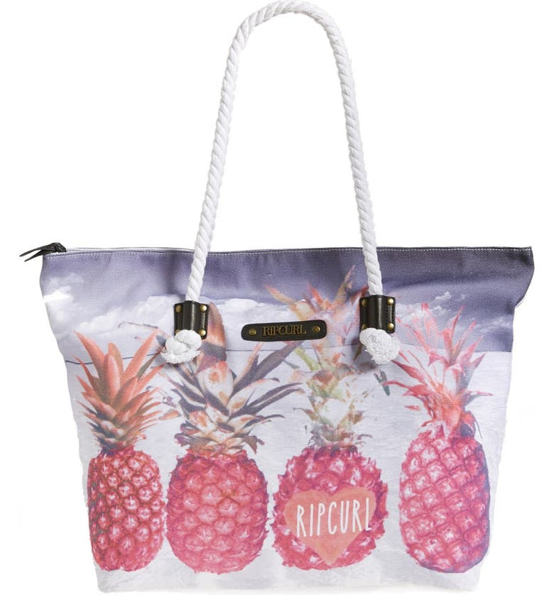 RIP CURL 'Pineapple Paradise' Tote, Main, color, 650