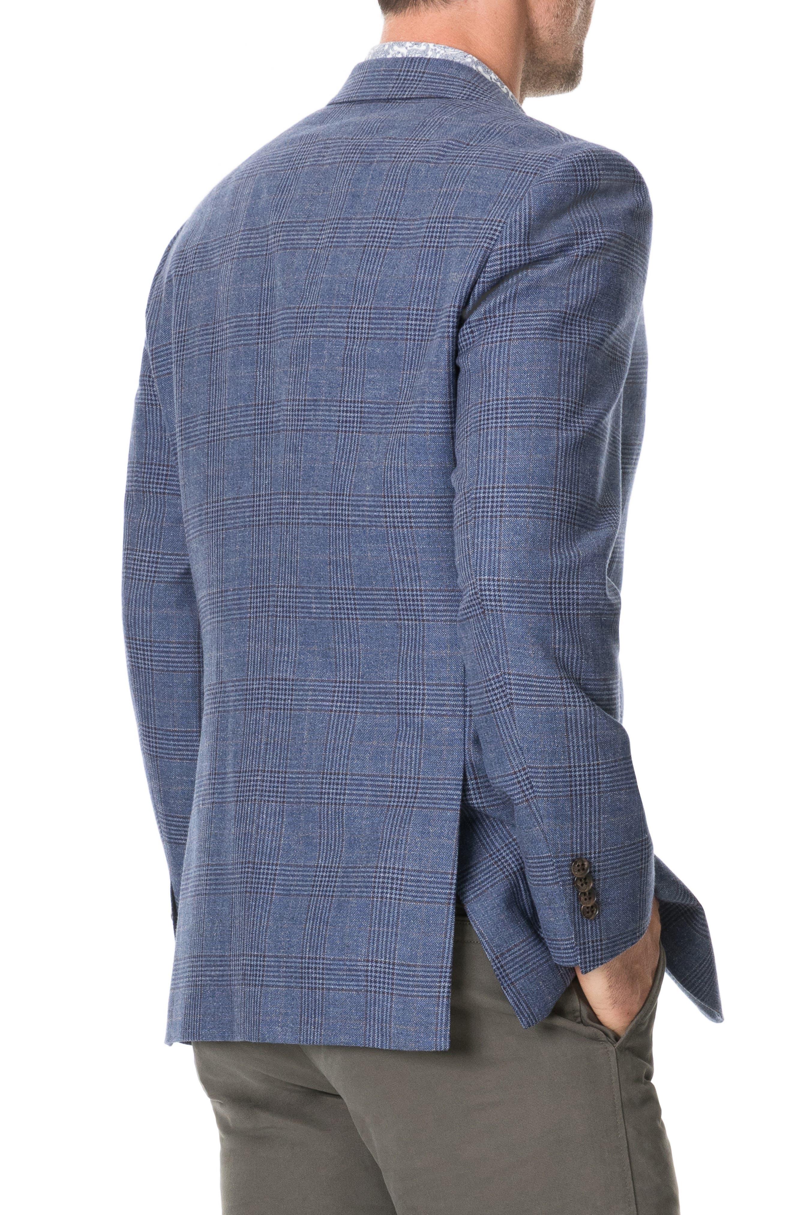 RODD AND GUNN Challis Regular Fit Plaid Sport Coat