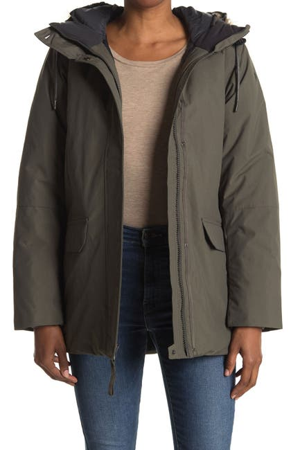 Image of Helly Hansen Classic Faux Fur Trim Hooded Insulated Parka