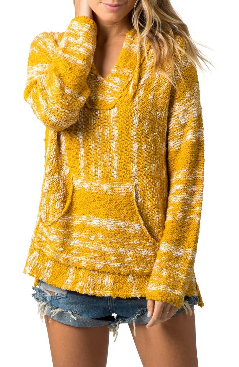 RIP CURL Seaside Stripe Hooded Sweater, Main, color, 700