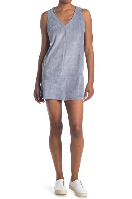 Image of Bishop + Young Sleeveless V-Neck Mini Dress