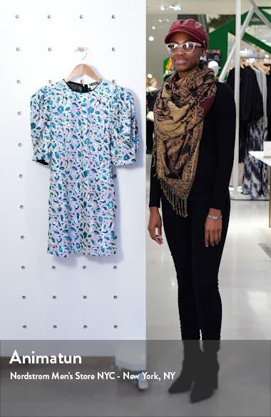 Christina Sequin Puff Sleeve Minidress, sales video thumbnail