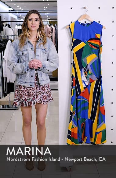 Sleeveless Silk Maxi Dress, sales video thumbnail