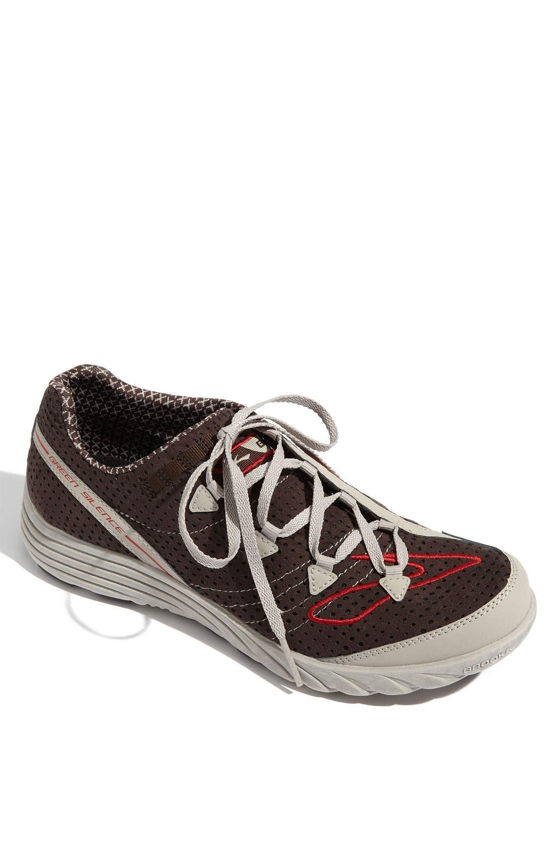 Brooks 'Green Silence' Running Shoe