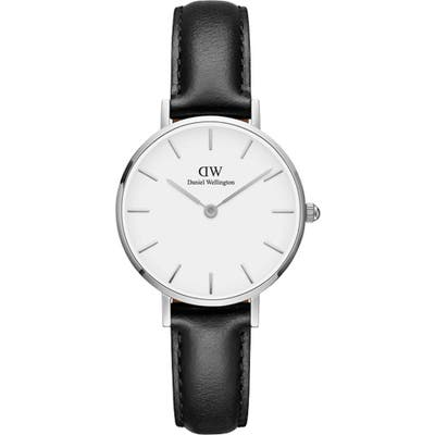Daniel Wellington Classic Petite Leather Strap Watch, 2m