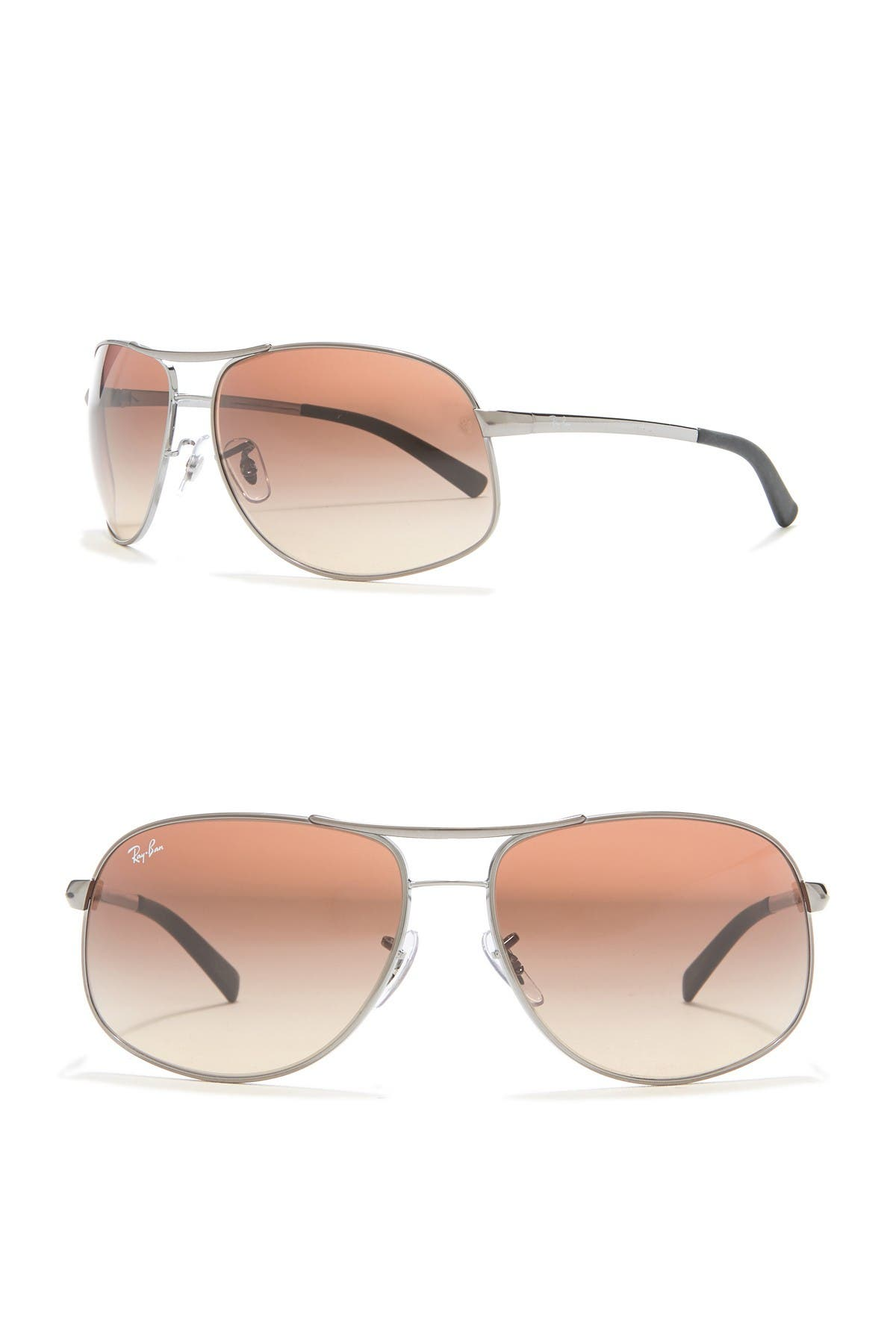 Image of Ray-Ban Gradient Pilot 64mm Sunglasses
