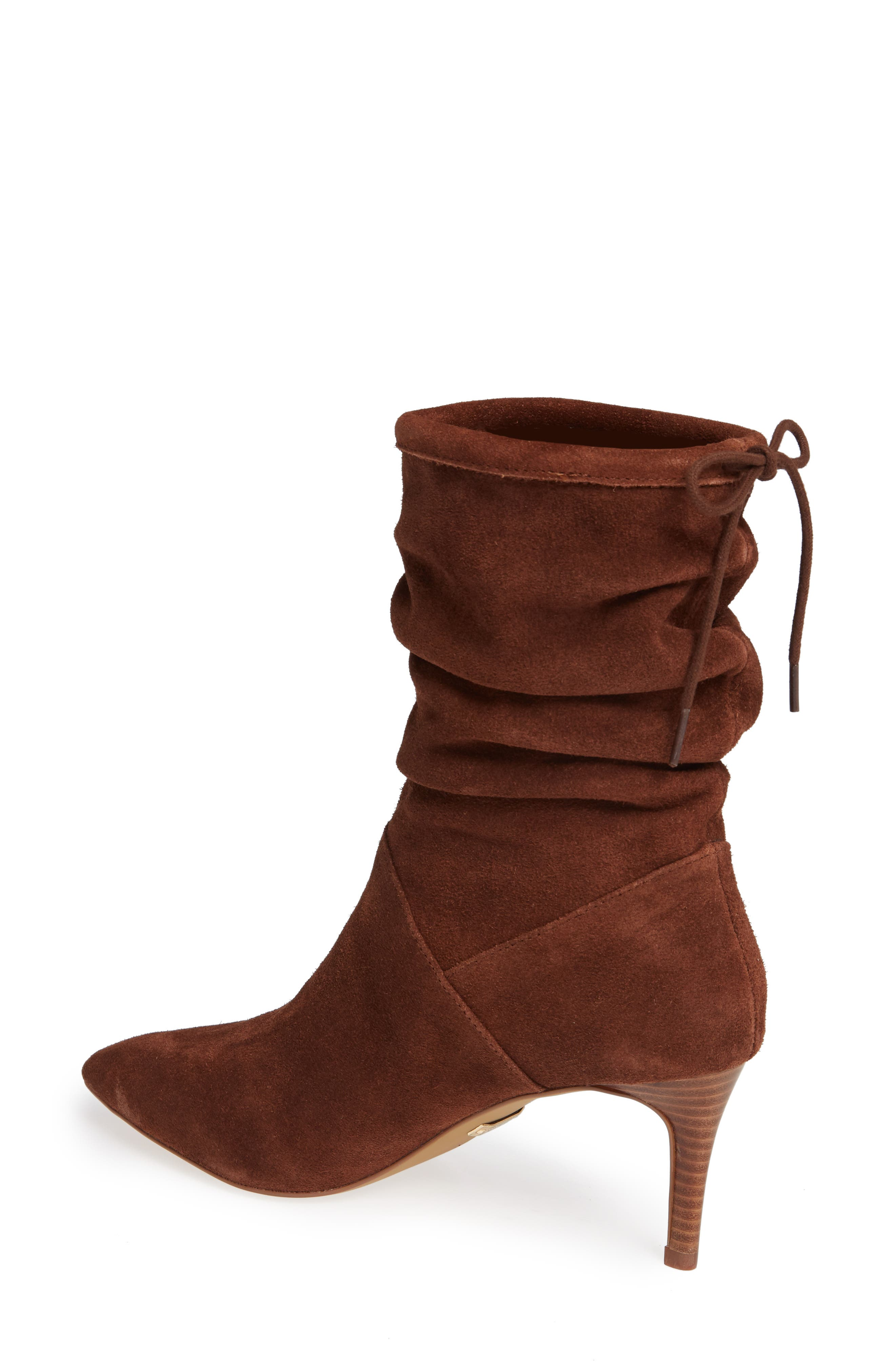 ,                             Natthan Slouchy Bootie,                             Alternate thumbnail 2, color,                             WALNUT SUEDE