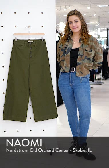 Emmett Crop Wide Leg Pants, sales video thumbnail