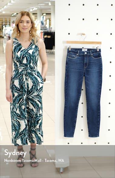 Hoxton High Waist Crop Skinny Jeans, sales video thumbnail
