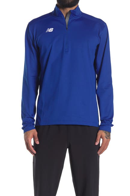 Image of New Balance Logo Half Zip Training Pullover
