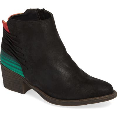 Very Volatile Griselle Strapped Bootie- Black