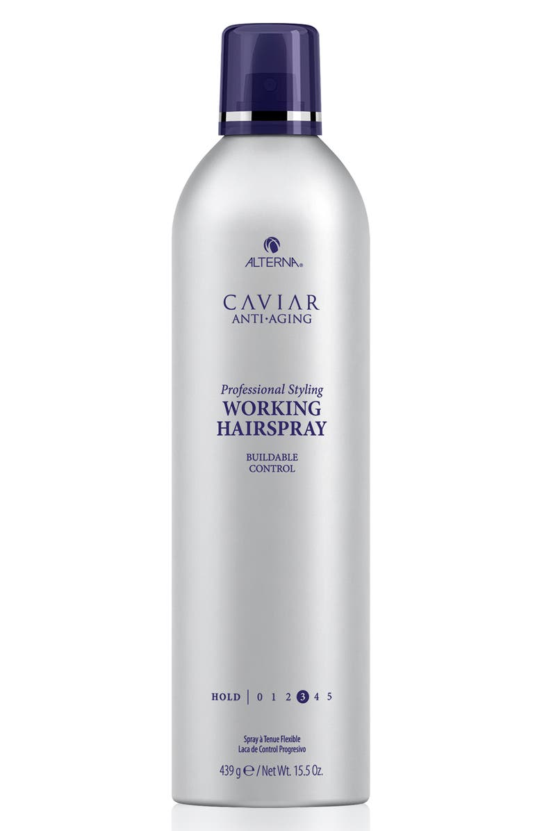 ALTERNA<SUP>®</SUP> Caviar Anti-Aging Working Hair Spray, Main, color, NO COLOR