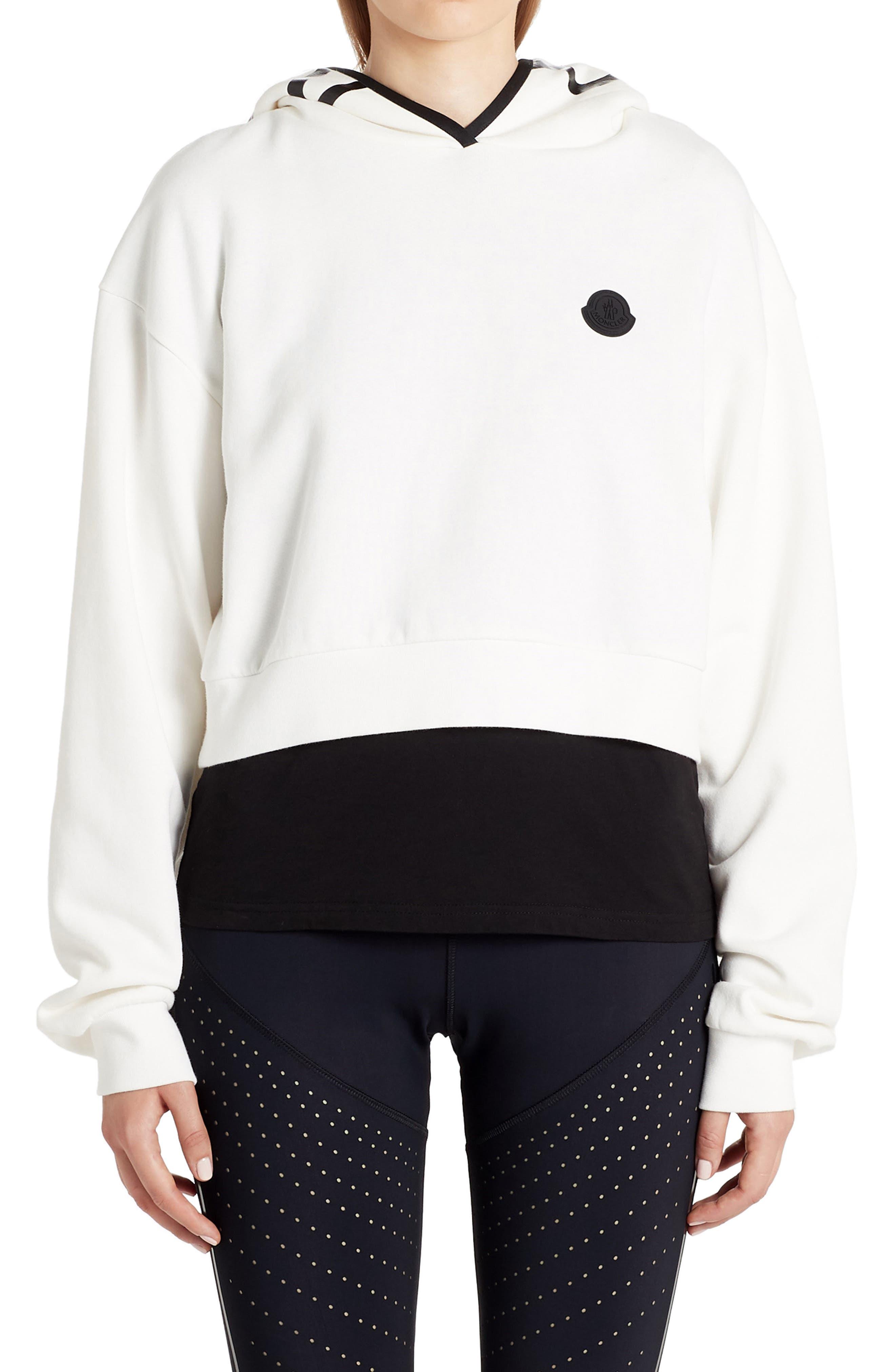 Women's Moncler Logo Hooded Sweatshirt
