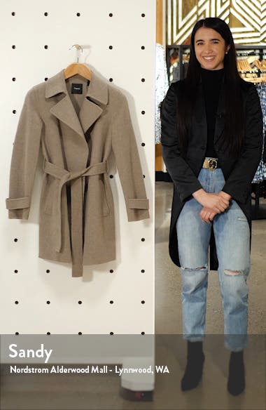 Oaklane Wool & Cashmere Trench Coat, sales video thumbnail