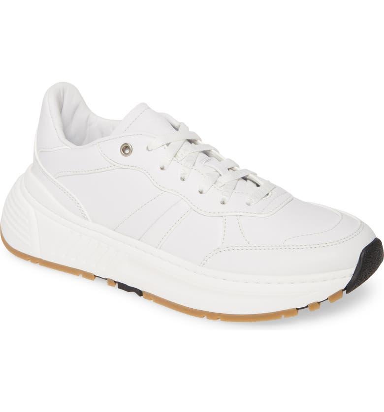 BOTTEGA VENETA Speedster Sneaker, Main, color, OPTIC WHITE