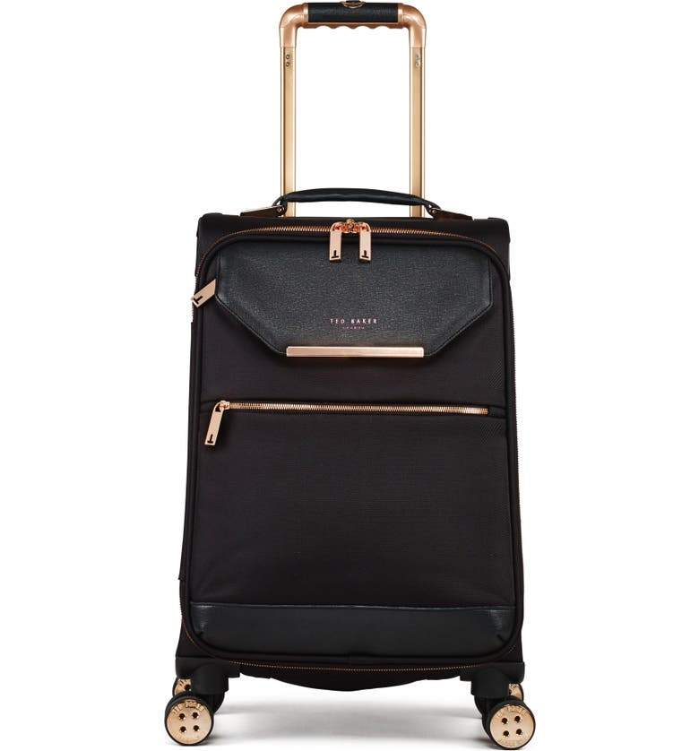 TED BAKER LONDON 22-Inch Trolley Packing Case, Main, color, BLACK