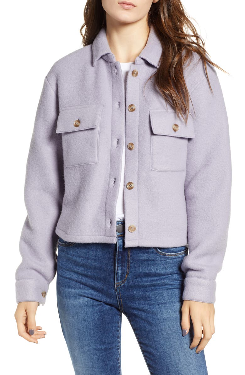 LOVE, FIRE Textured Utility Jacket, Main, color, 536