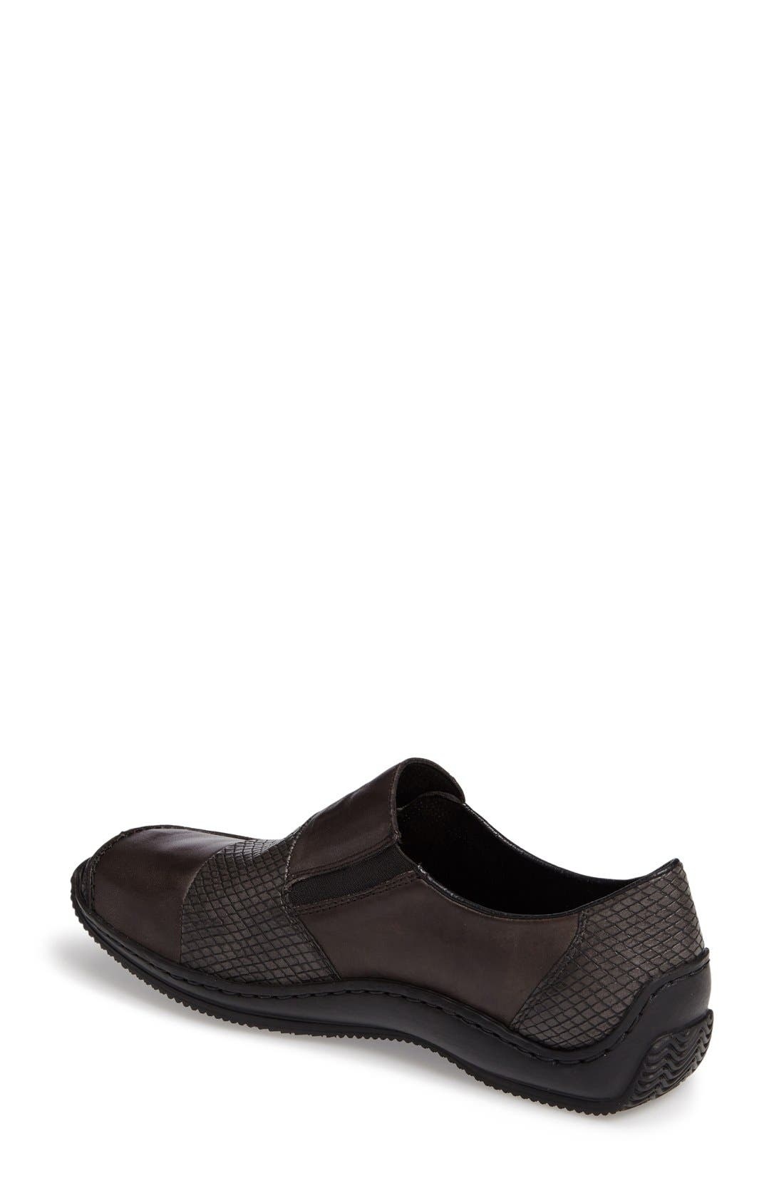 ,                             'Celia 62' Loafer,                             Alternate thumbnail 2, color,                             GREY LEATHER