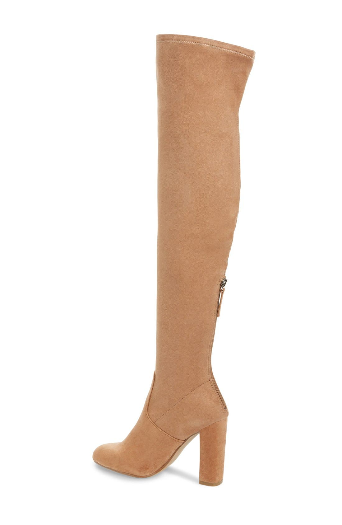 ,                             'Emotions' Stretch Over the Knee Boot,                             Alternate thumbnail 12, color,                             260